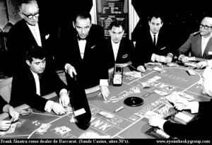 Frank Sinatra var et stort fan av Baccarat