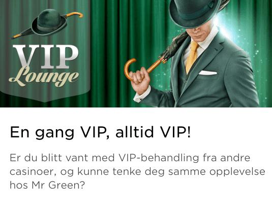 Mr green VIP