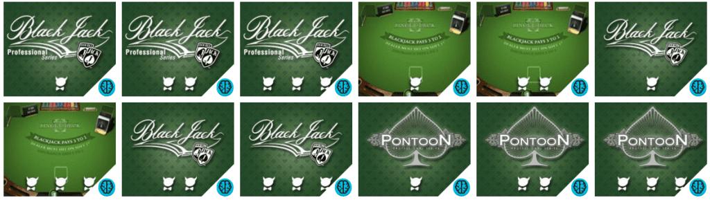 DE fleste casinoer tilbyr et stort utvalg Blackjack-varianter