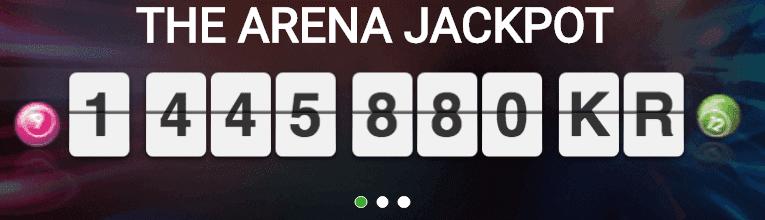 The Arena Jackpot