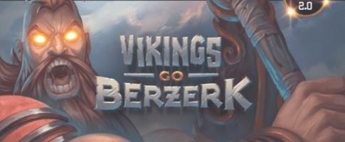 Vikings Go Berzerk er et nytt spill fra Yggdrasil