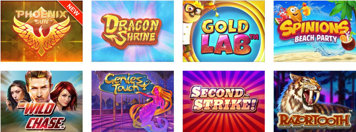 Et utvalg av Quickspin sine spilleautomater til online casino