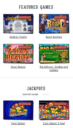 Spilleren Casino - Spillutvalg