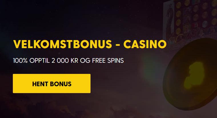 Bethard Casino VELKOMSTBONUS