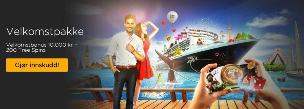Casino Cruise velkomstbonus