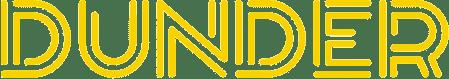 Dunder casino site logo.