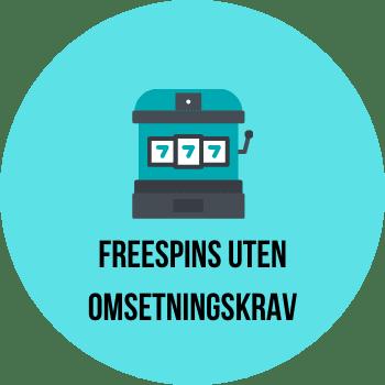 freespins uten omsetningskrav